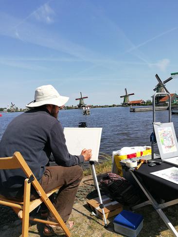 Zaanse Schans, the Netherlands, July 2018