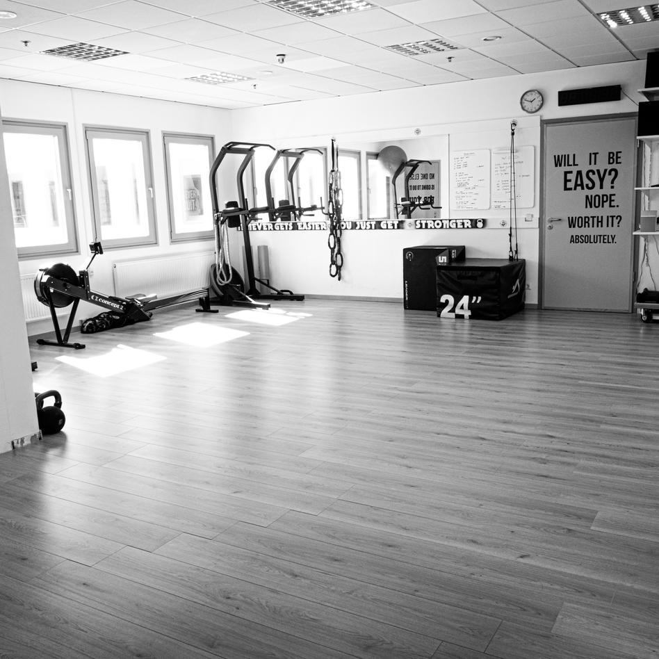 Personal training room