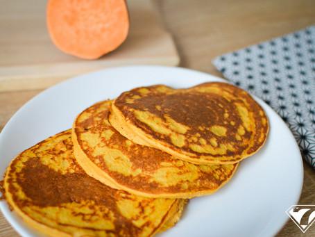 Recette de pancakes à la patate douce