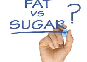 Fat versus sugar ... le duel