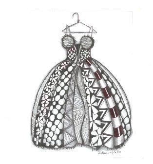 Spikey Top Dress