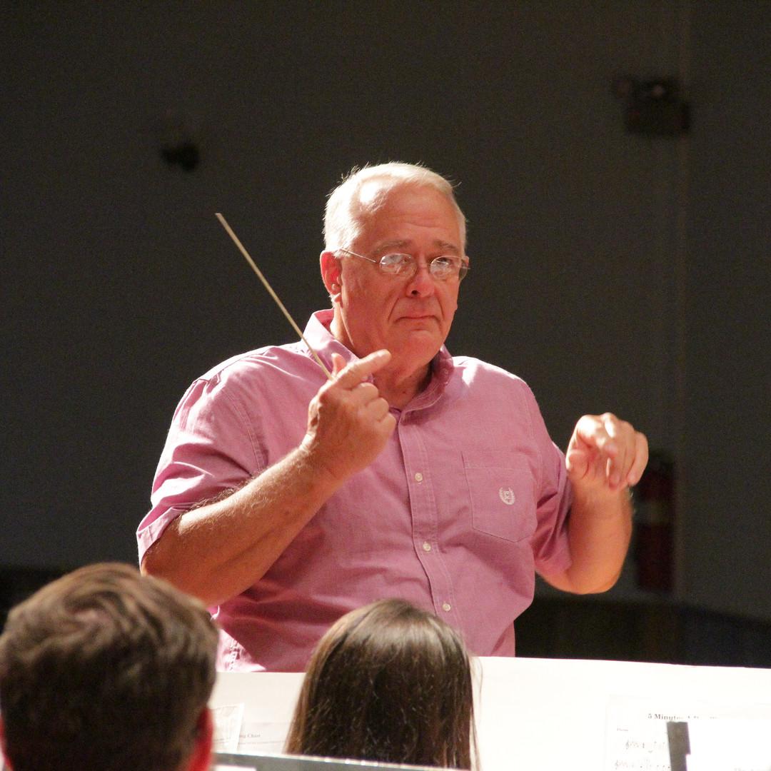 Community Band Director Butch Stevens.JP