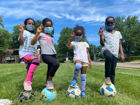 Baltimore Ravens Award Soccer Without Borders with PLAY 60 Grant