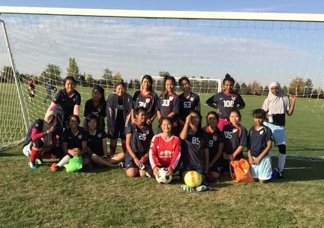SWB Greeley Girls Team ready to play!