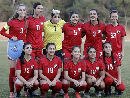 Afghanistan Women's National Team Kicks off 2018 Together