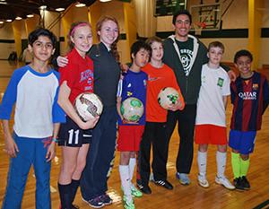 Skidmore Soccer Spreads the Joy