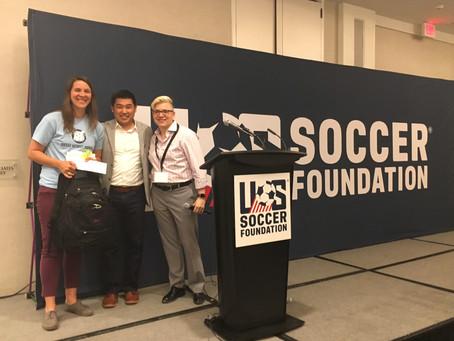 US Soccer Foundation Awards SWB Inaugural Impact Award