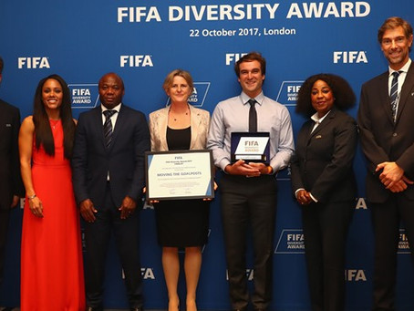 Soccer Without Borders Wins FIFA Diversity Award 2017