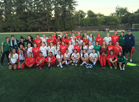 Afghanistan Women's National Team Comes to the Bay Area
