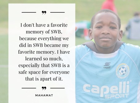 Reflections From SWB 8th Grade Graduates in Maryland