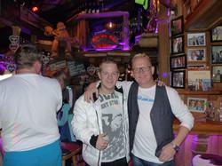 Swen Tangl und DJ Mox im Kasermandl