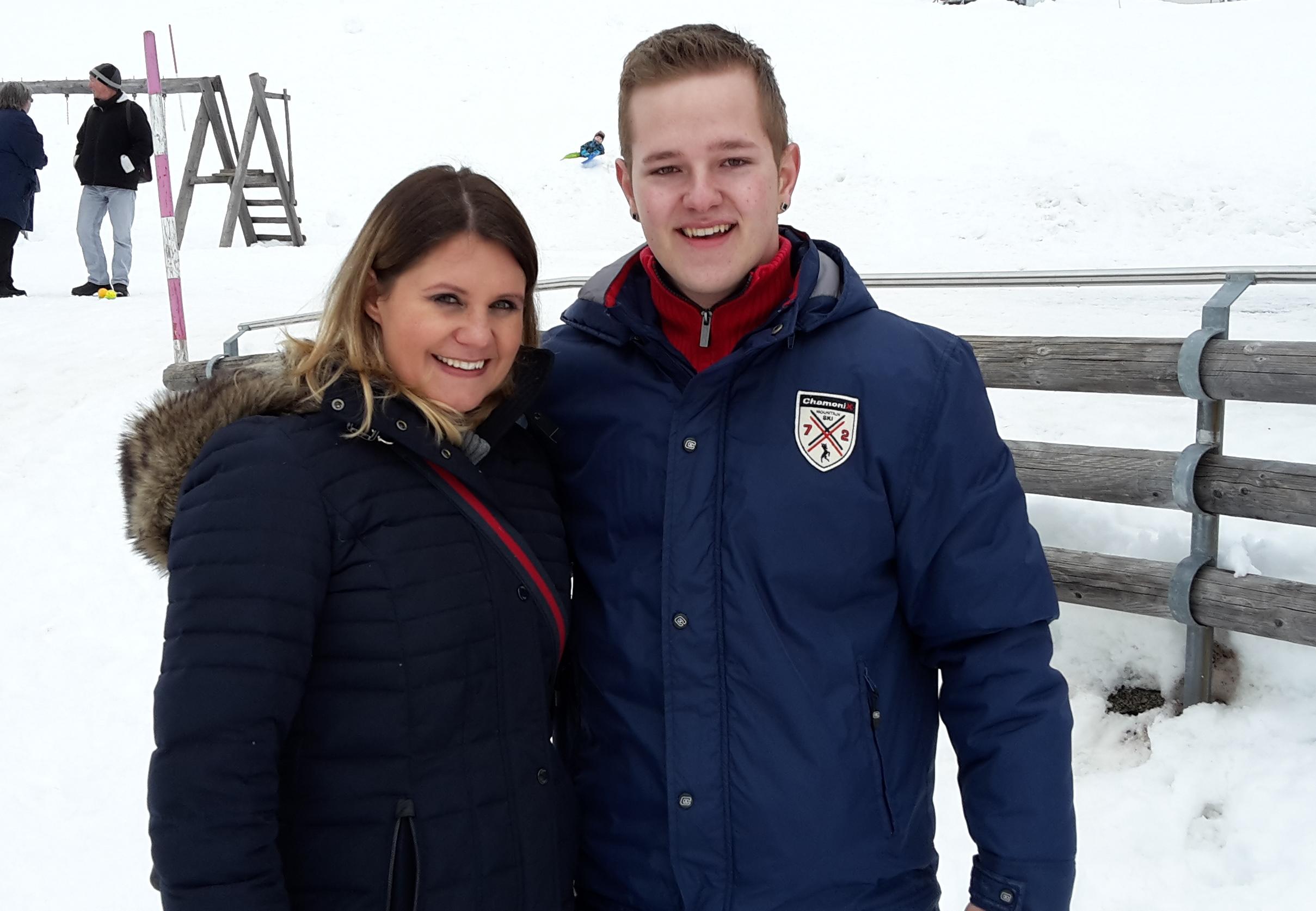 Manuela Fellner und Swen Tangl