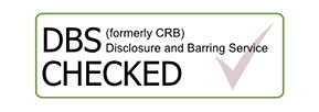 "Government Disclosure and Barring Service ""Checked"" logo"