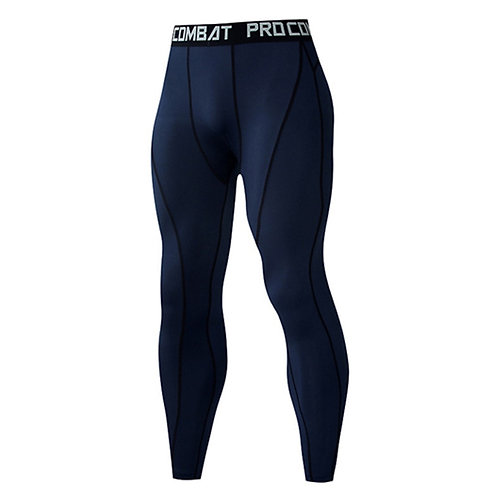 Sports Wear Compression Training Pants Men Running Fitness Gym Basketball