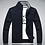 Thumbnail: Men Sweater Cardigan Casual Wool Men Sweater Zipper Outerwear Army Green White