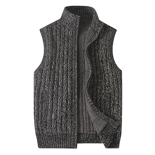 Sweater Men Casual  Slim Fit Sleeveless Shirt Sweaters Knitted
