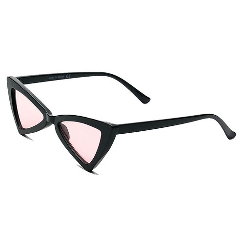 FIRENZE | S1053 - Women High Pointed Cat Eye Sunglasses