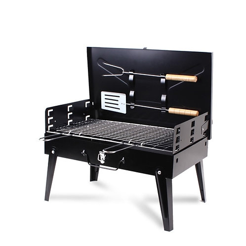 K-Star Portable BBQ Grill Folding Charcoal Stainless Steel BBQ Grill