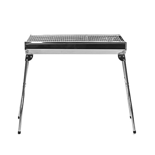 Folding Stainless Steel Charcoal BBQ Grill Outdoor Barbecue  105x73x71cm