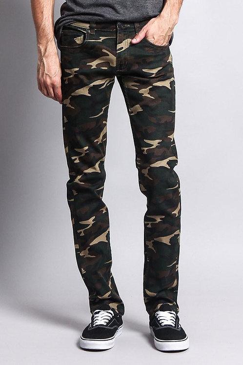 Men's Camo Skinny Jeans