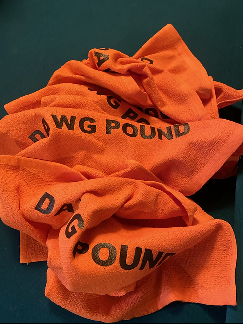 Dawg Pound Rally Towels