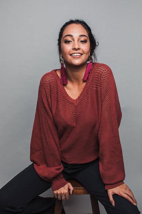 Opal Hemp Sweater