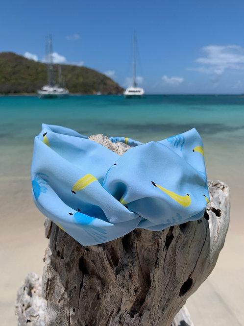 Headband Crabe banane Mat