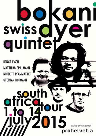 Bokani Dyer Swiss Quintet