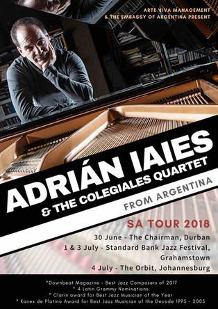Adrian Iaies & The Colegiales Quartet