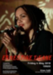 Ernestine - Alma Cafe 4.05.2018 Poster.j