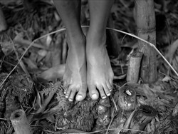 Kim's feet