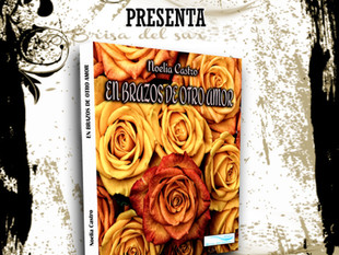 """Presentación da primeira novela de Noelia Castro """"En brazos de otro amor""""."""