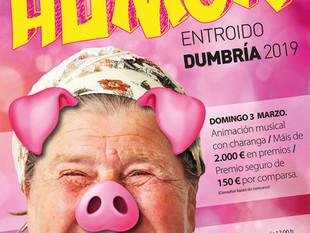 Entroido Dumbría 2019, máis de 2.000 € en premios, APUNTATE!!!