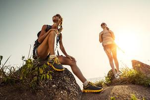 Camiña e descobre o Monte Pindo.