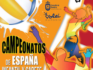 Campionatos de España Infantil e Cadete de Volei Praia 2019