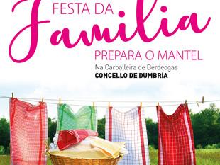 19 FESTA DA FAMILIA, prepara o mantel!!!