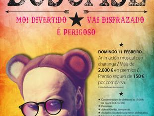 Entroido Dumbría 2018, máis de 2.000 € en premios, APUNTATE!!!