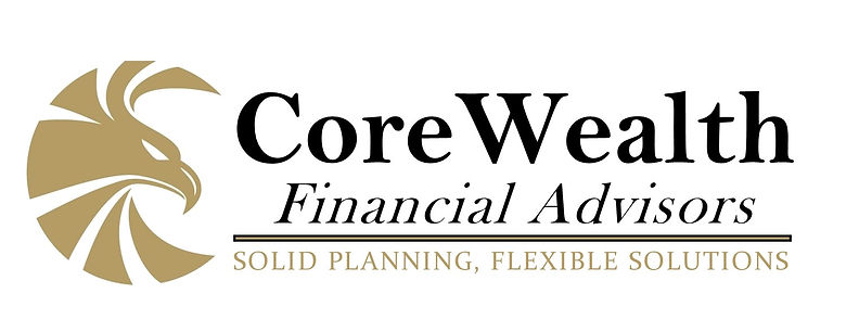 1 CoreWealth Transparent Logo JPEG Stand