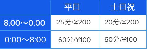 日暮里料金表.png