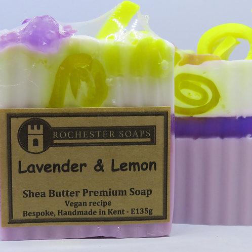 Lavender & Lemon Shea butter soap