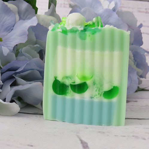 Aloe & Cucumber shea butter soap