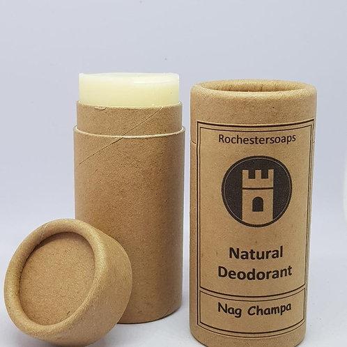 Nag Champa natural deodorant
