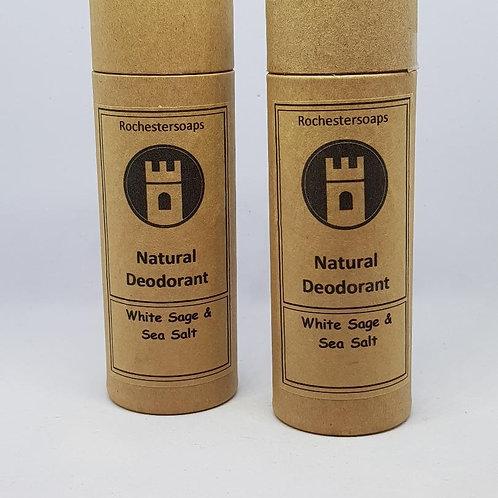 Natural Deodorant - White sage & Sea salt