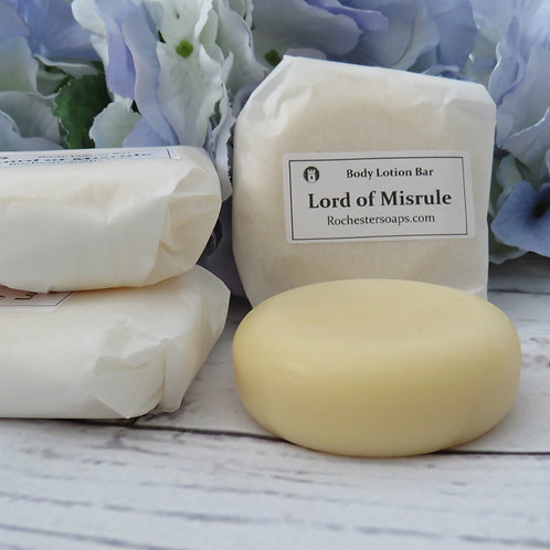 Body lotion bar- Lord of Misrule
