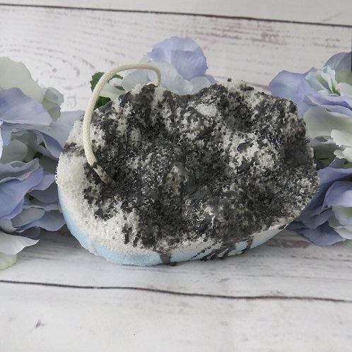 Soap infused massage sponge - kreed