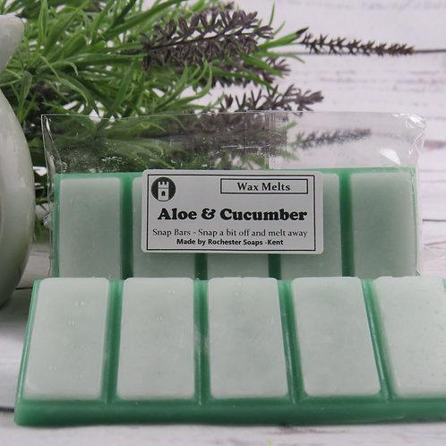 Wax melt Snap Bar - Aloe & Cucumber