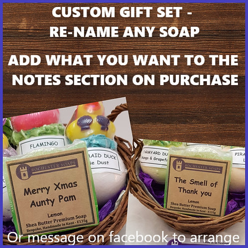 Classic Gift Basket- chose your own