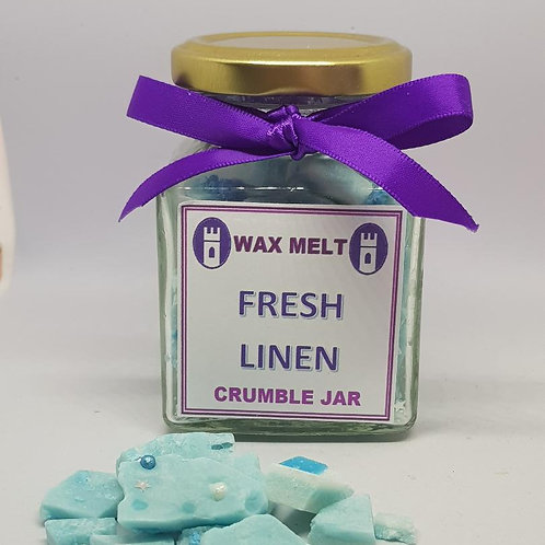 wax crumble - fresh linen