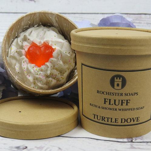 Bath & Shower Fluff Soap -Turtle Dove