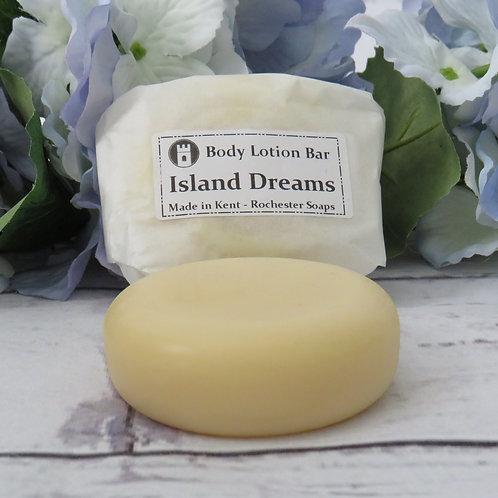Body lotion bar -Island Dreams